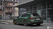Gloednieuwe Audi RS4 Avant B9 heeft tijdelijke blessure