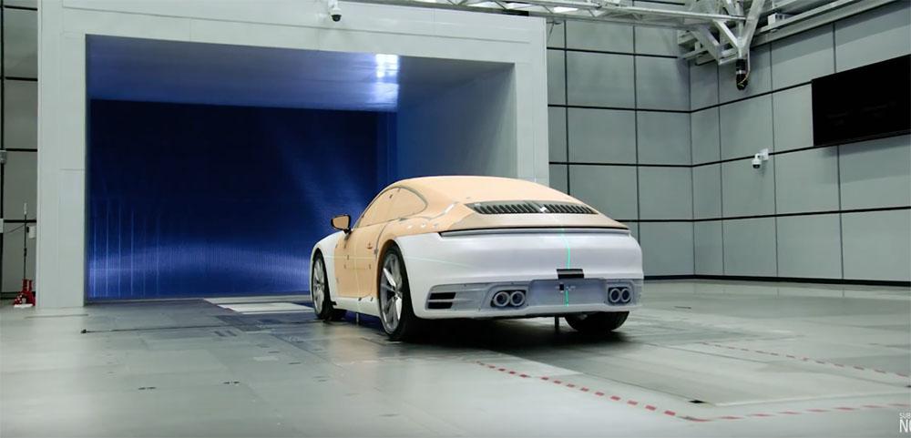 Filmpje: de ontwikkeling van de Porsche 992 Carrera