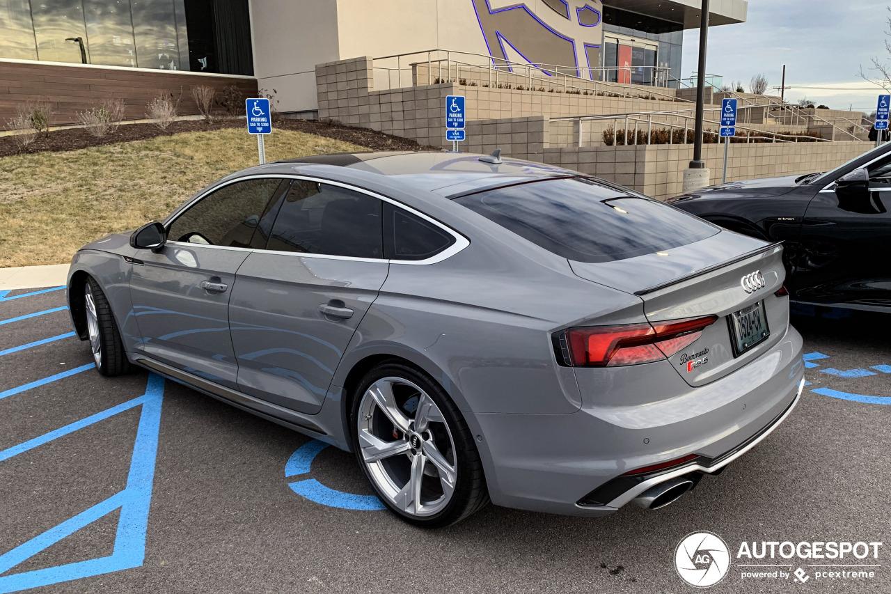 Kijken met de oogjes, Audi RS5 Sportback