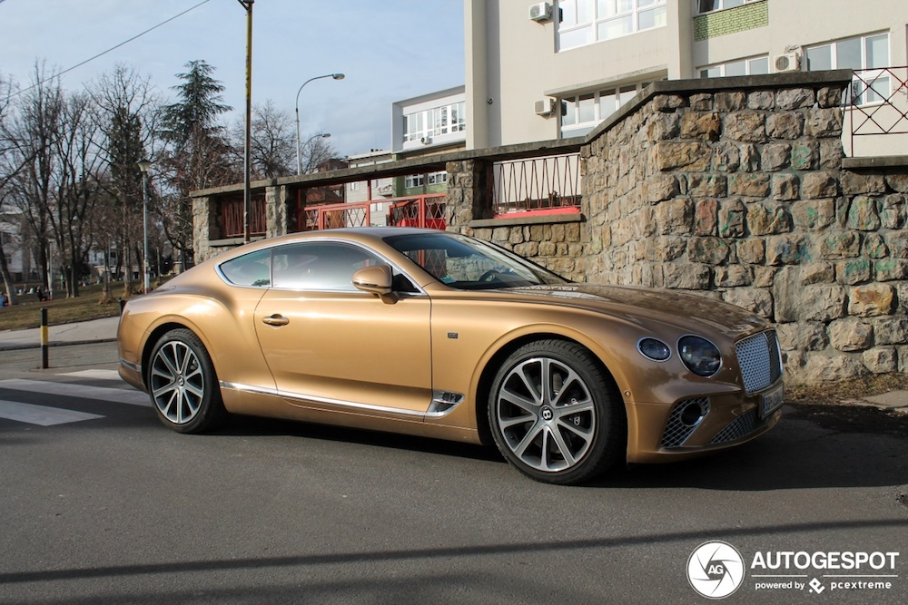 Ultiem exemplaar van de nieuwe Bentley duikt op in Belgrado!