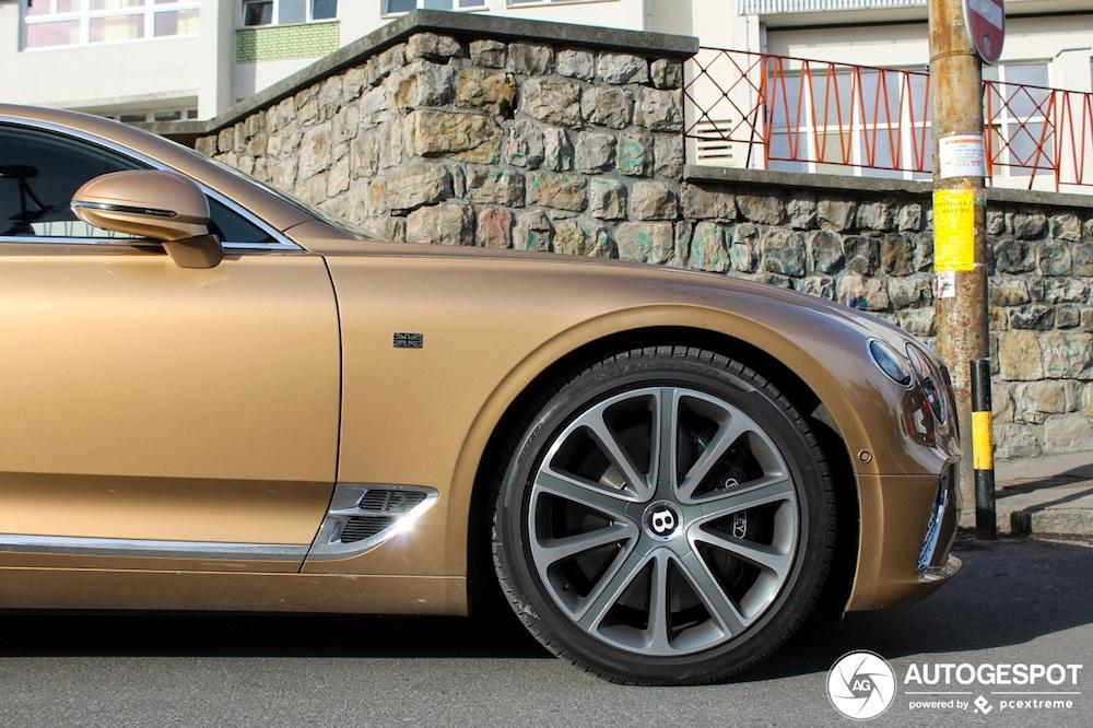 Unikatan Bentley Continental GT se pojavio u Beogradu!