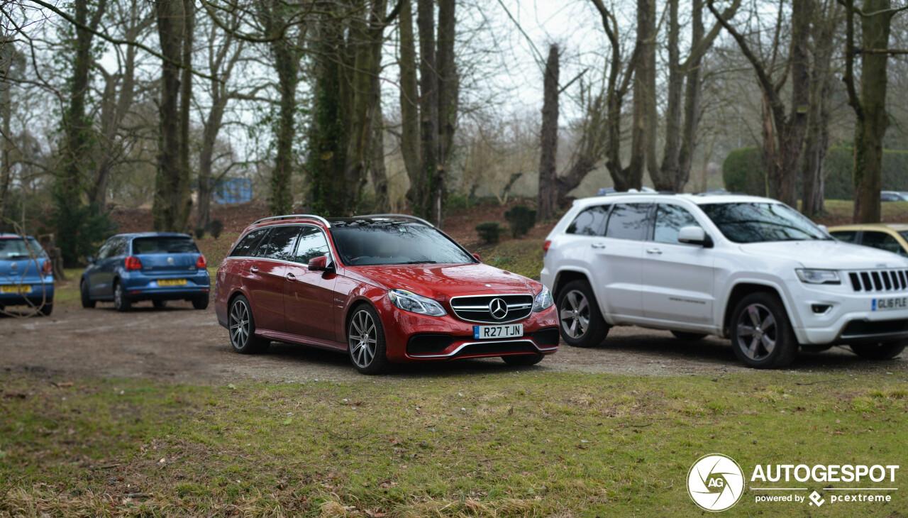 身具超跑精髓的家庭车:梅塞德斯-AMG E 63 S Estate