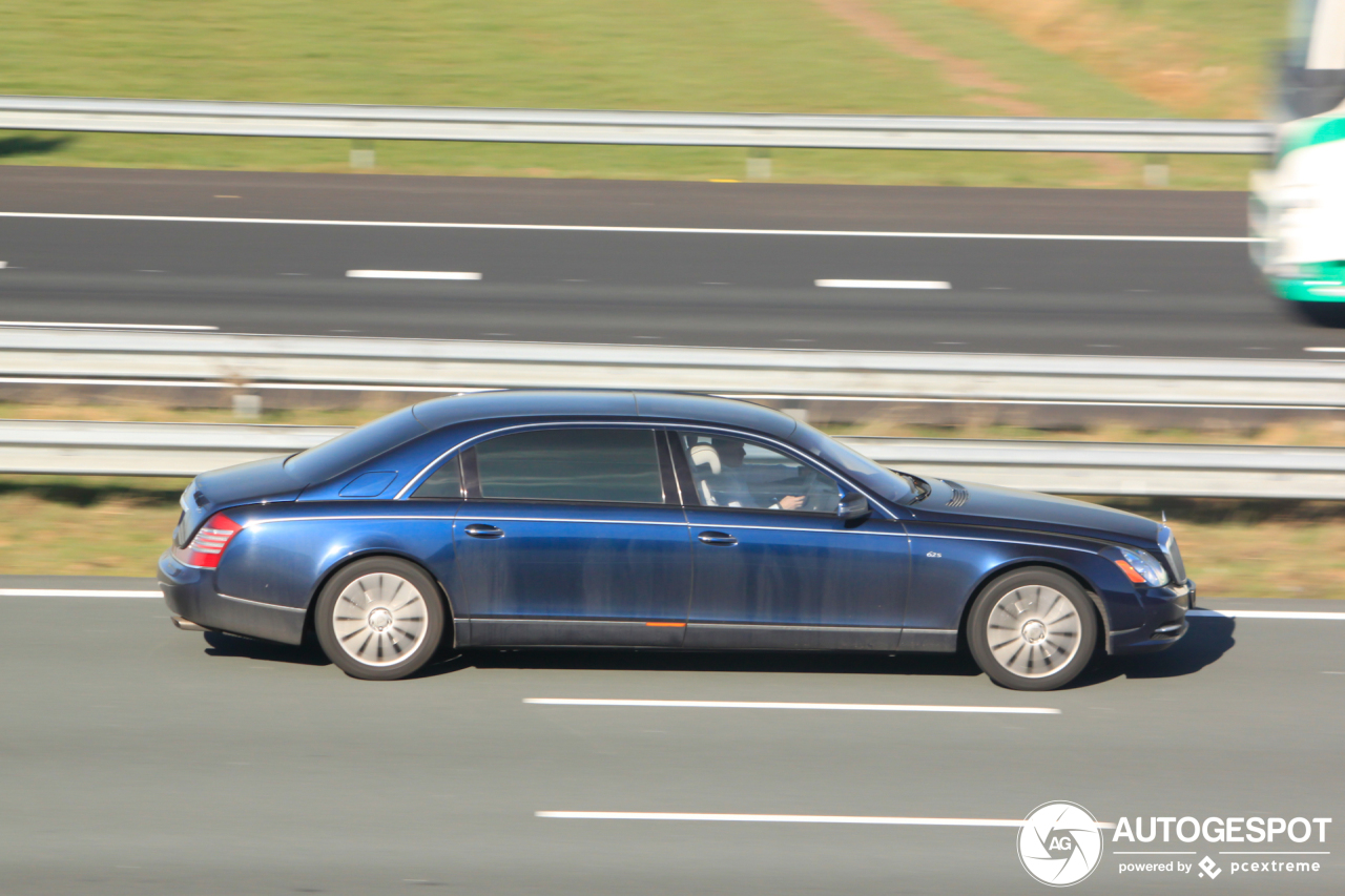 Groot, groter, grootst, Maybach 62 S