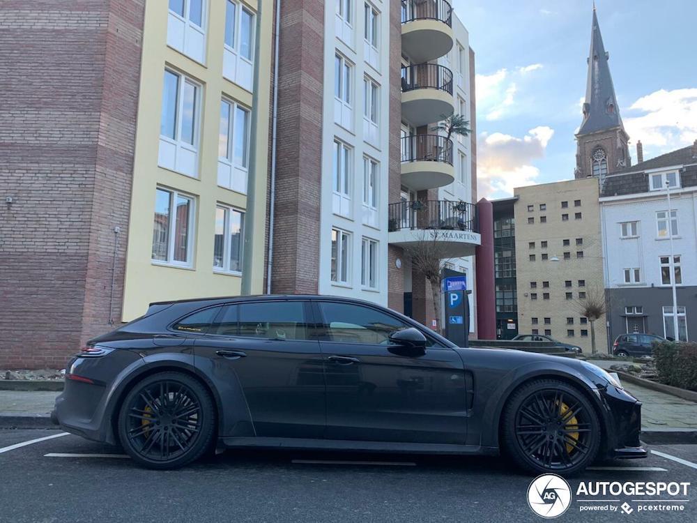 DJ La Fuente mag zijn Porsche wel eens wassen!