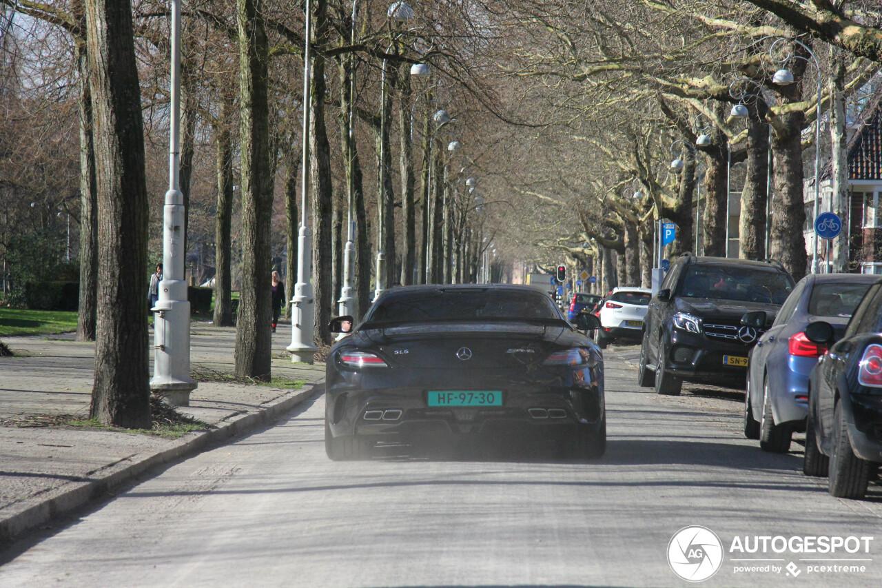 Spot van de dag: Mercedes SLS AMG Black Series
