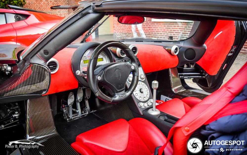 Spot van de dag: Koenigsegg CCX