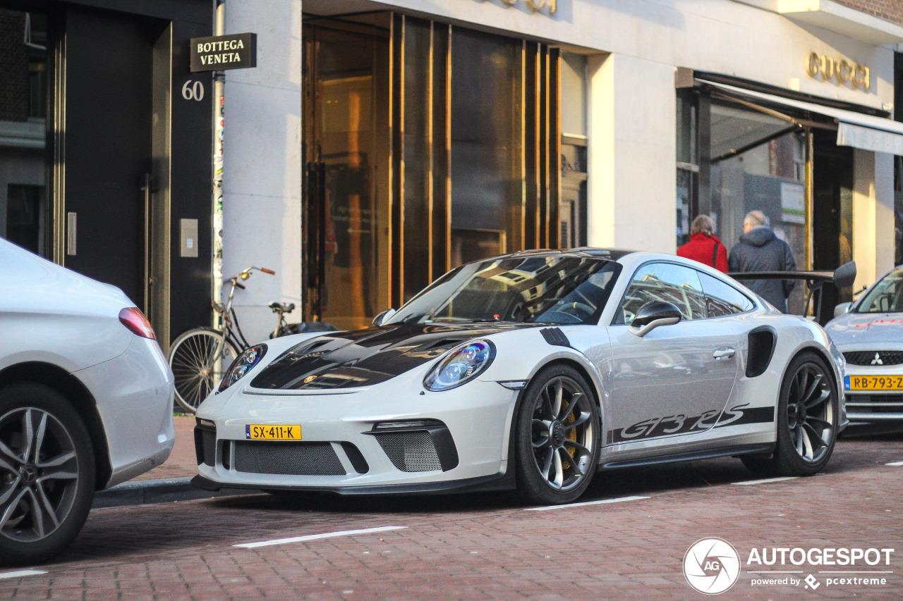 Spot van de dag: Porsche 991 GT3 RS MkII Weissach Package