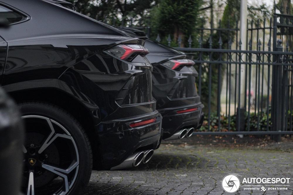 Spot van de dag: Lamborghini Urus combo