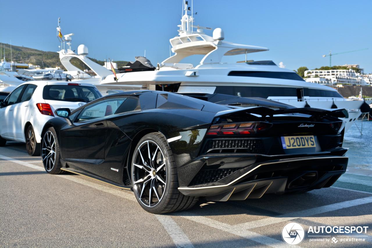 Subtiele details maken de Lamborghini Aventador stijlvol
