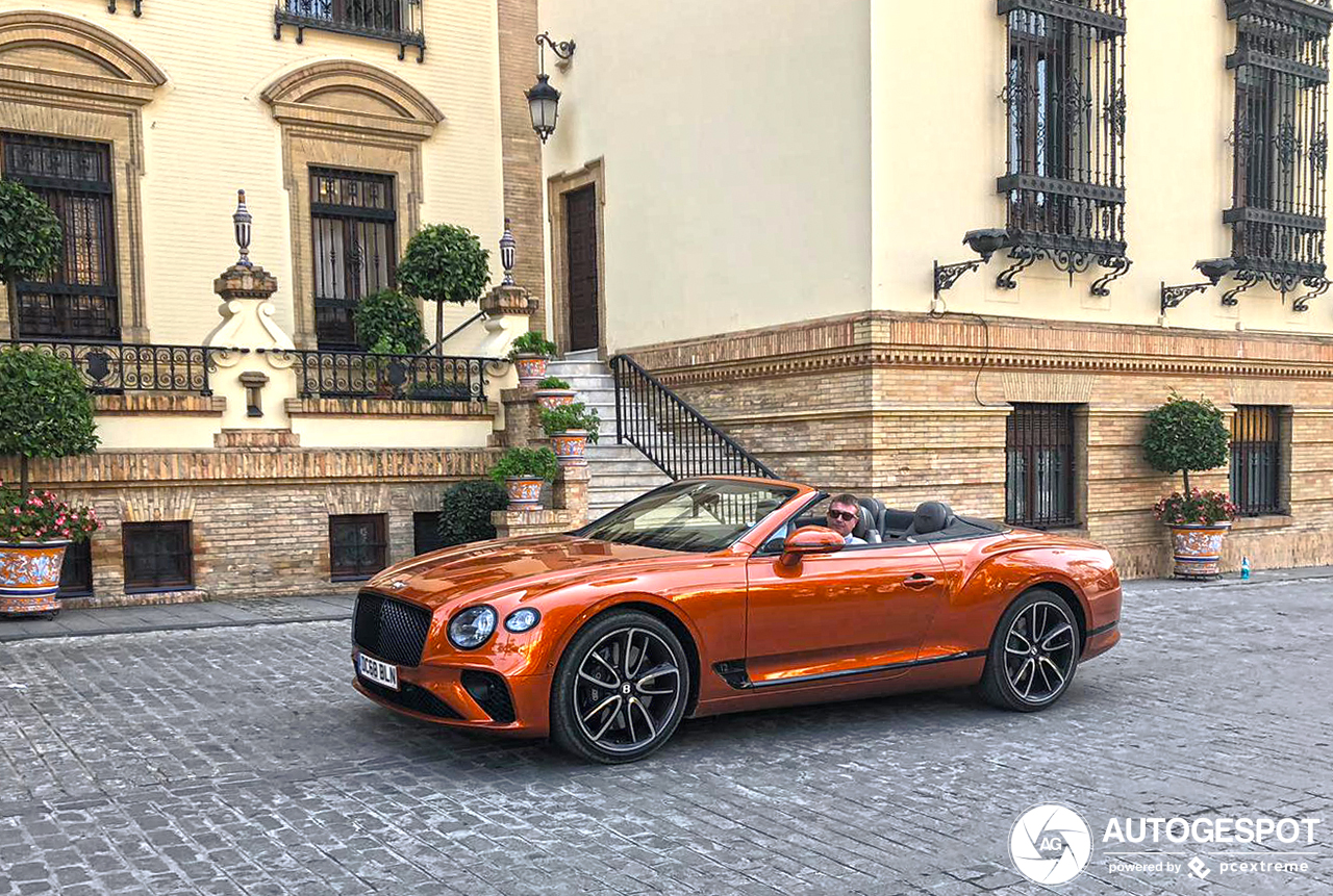 Primeur gespot: Bentley Continental GTC