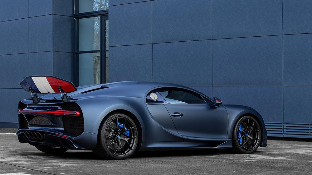 "Bugatti is jarig: Chiron Sport ""110 ans Bugatti"""