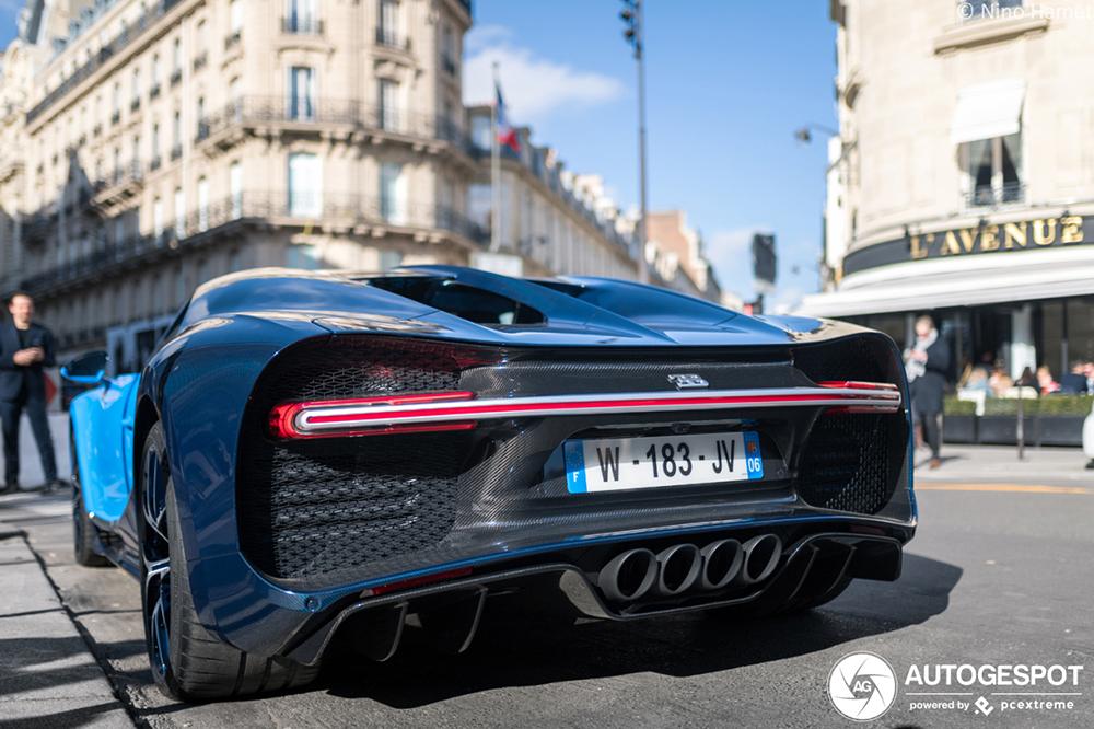 Primeur gespot: Bugatti Chiron Sport