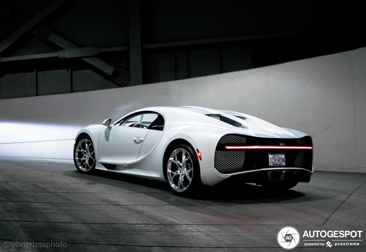 Bugatti Chiron blijven jullie leuk vinden