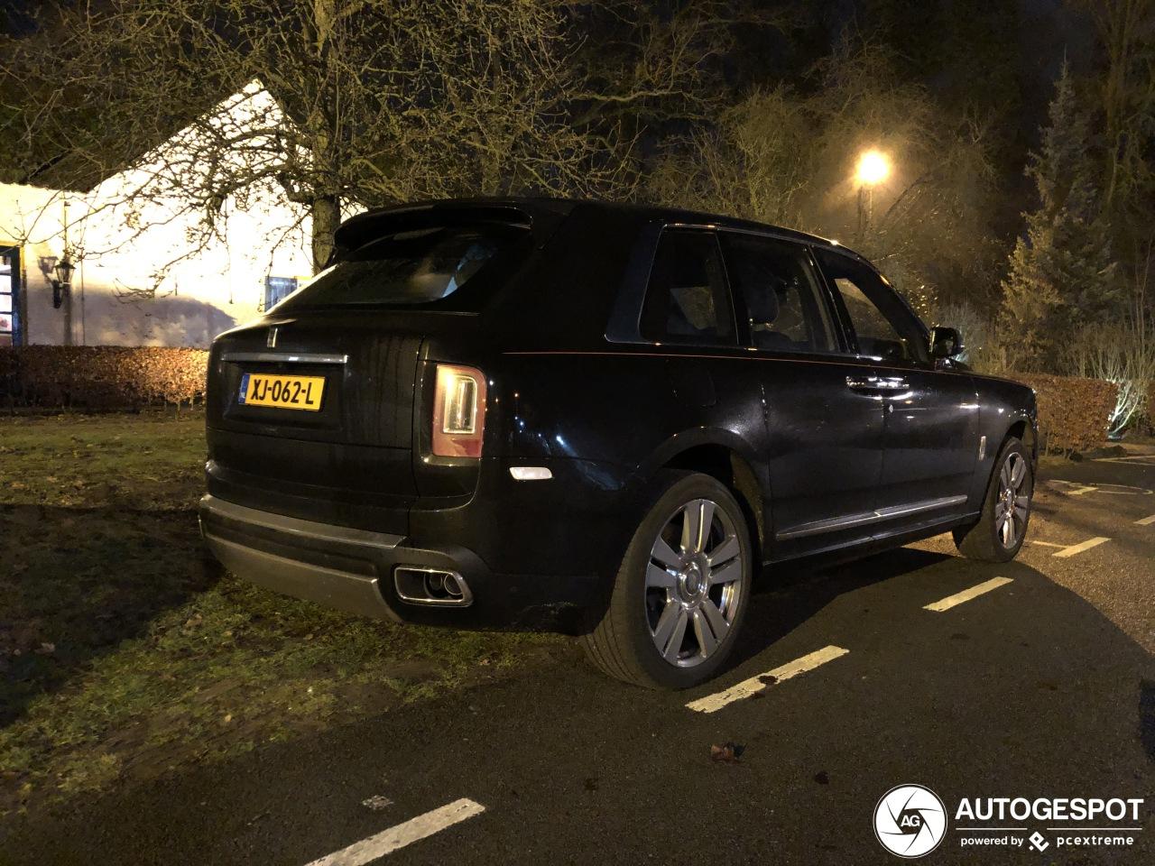 Eerste Rolls-Royce Cullinan op Nederlandse platen eindelijk gespot