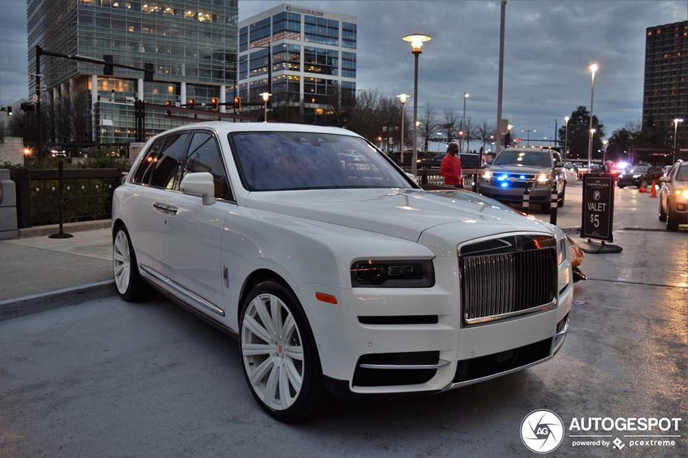 Valt de Rolls-Royce Cullinan ten prooi aan rappers?