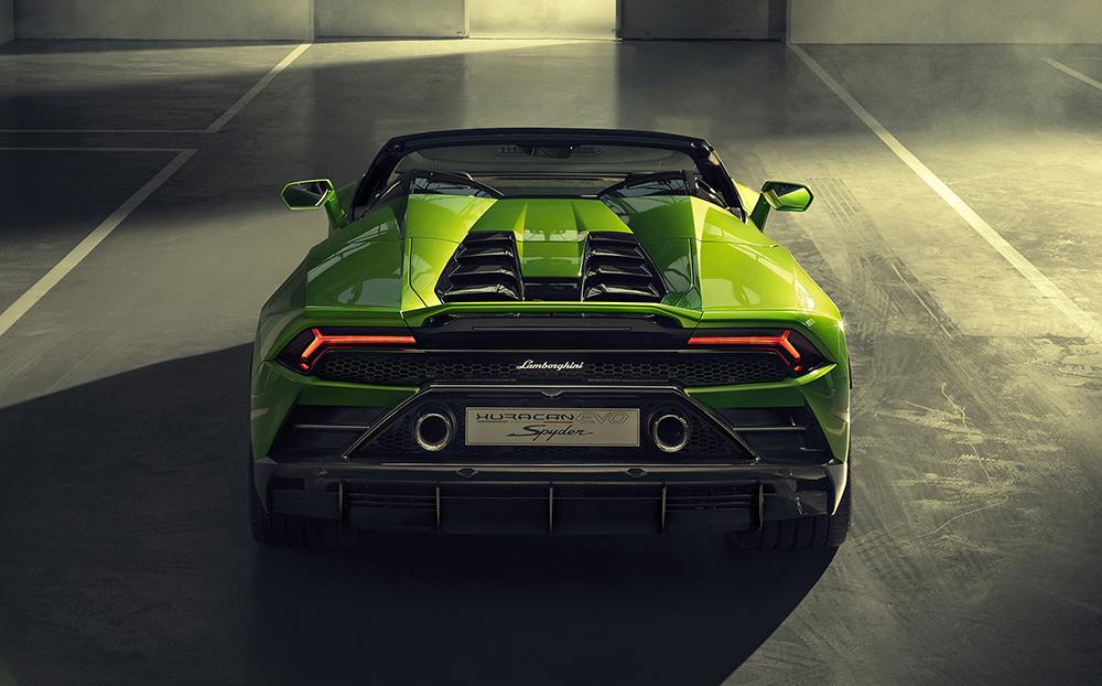 Geneva '19: Lamborghini Huracán EVO Spyder