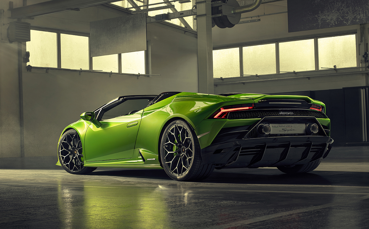 Lamborghini Huracán EVO Spider is te bewonderen in Genève