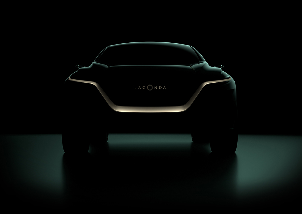 Lagonda All-Terrain concept maakt debuut in Genève