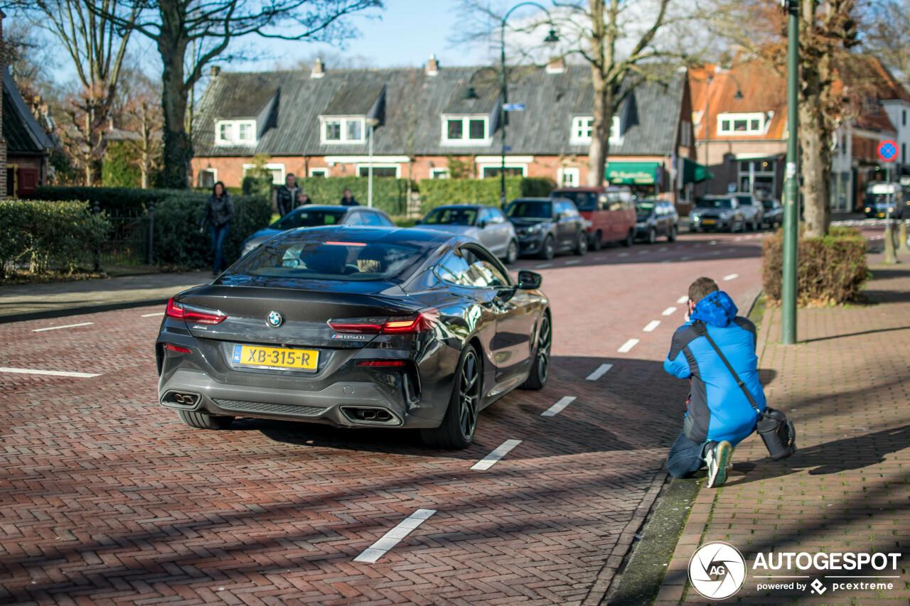 BMW M850i is een succes