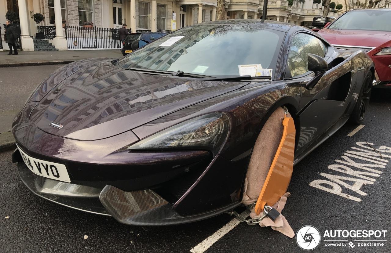 McLaren 570GT gaat nergens meer heen