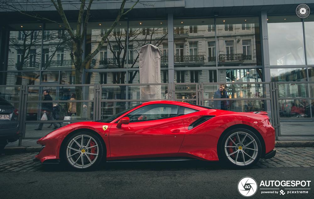 Ook België heeft nu een Ferrari 488 Pista