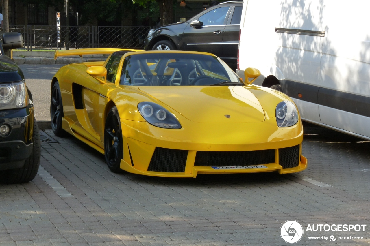 Is dit legaal? Porsche Carrera GT by Konigseder