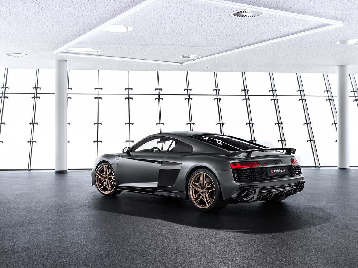 Hommage aan de V10: gelimiteerde Audi R8 V10 Decennium