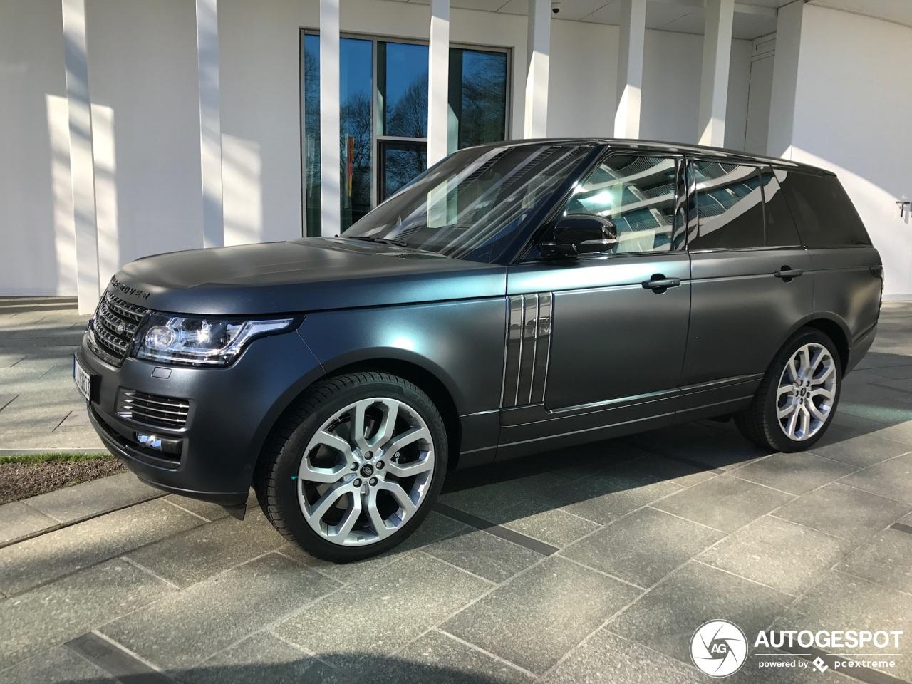 Range Rover SVAutobiography blijft de koning