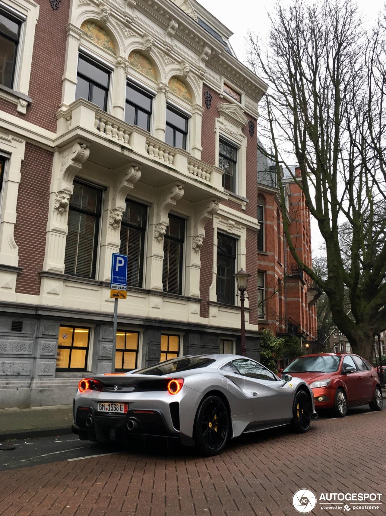 Spot van de dag: Ferrari 488 Pista