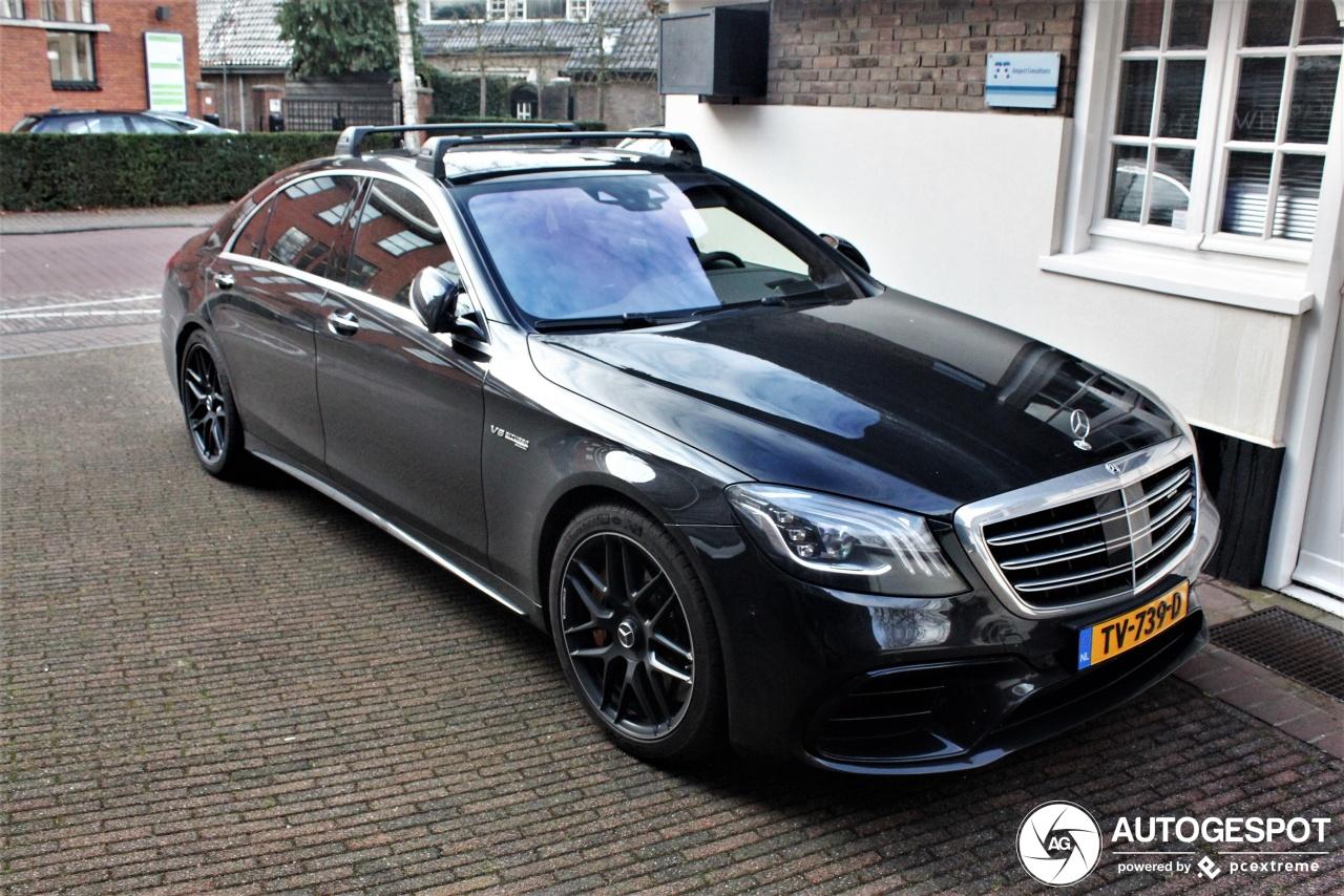 Spot van de dag: Mercedes-AMG S 63 met dakdragers