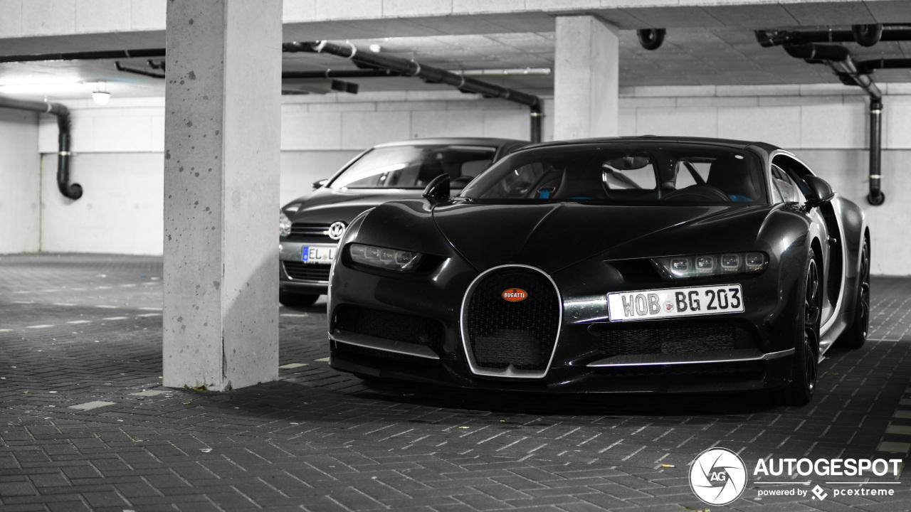 Spot van de dag: Bugatti Chiron bij de Kattenmeppers