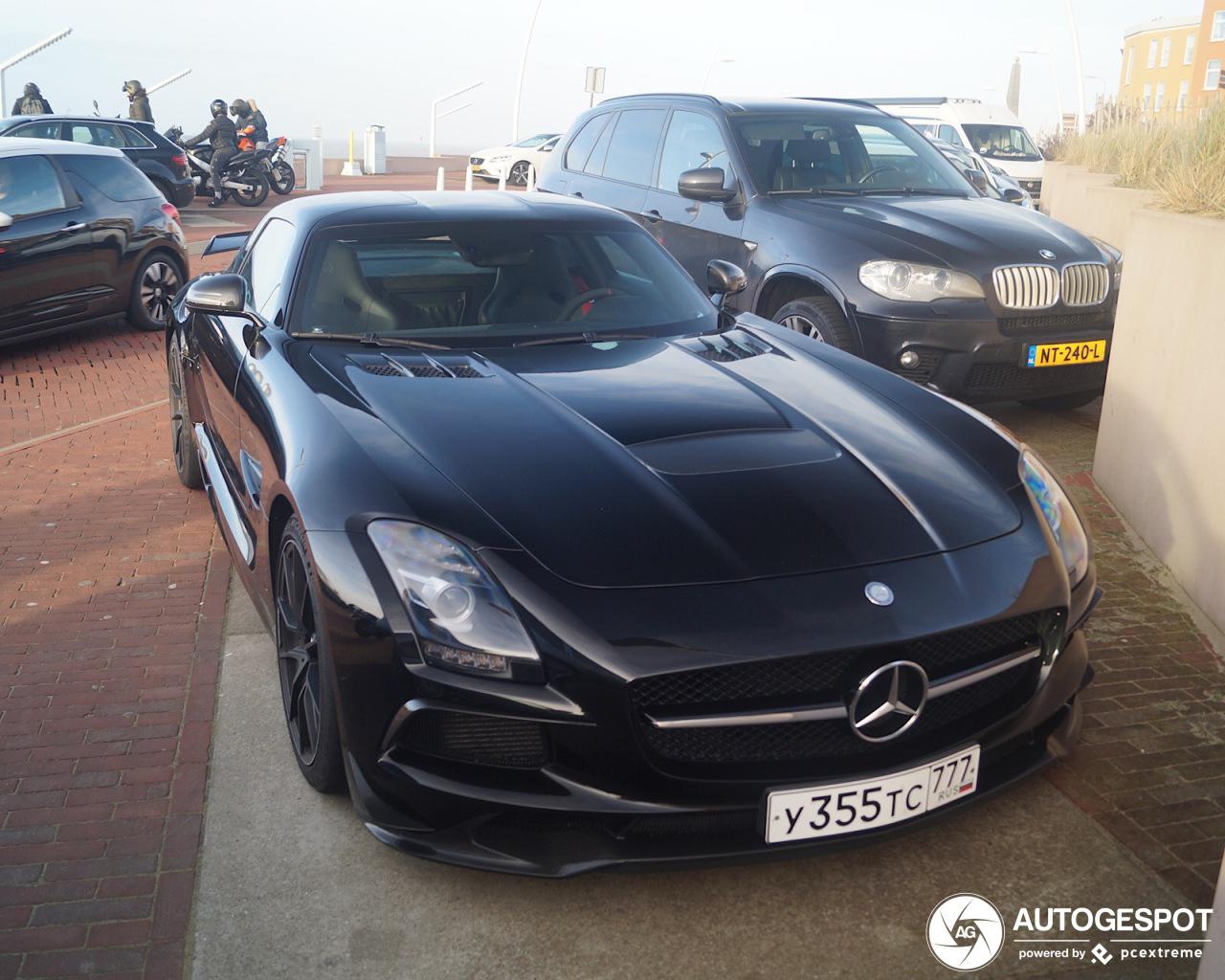 Spot van de dag: Mercedes-Benz SLS AMG Black Series