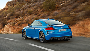 Audi TT-RS is terug en heeft nog een vijfcilinder!