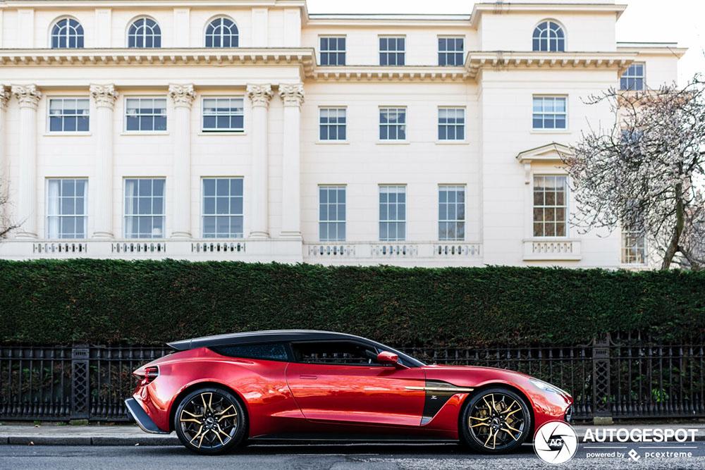 Eerste Aston Martin Vanquish Zagato Shooting Brake is gespot