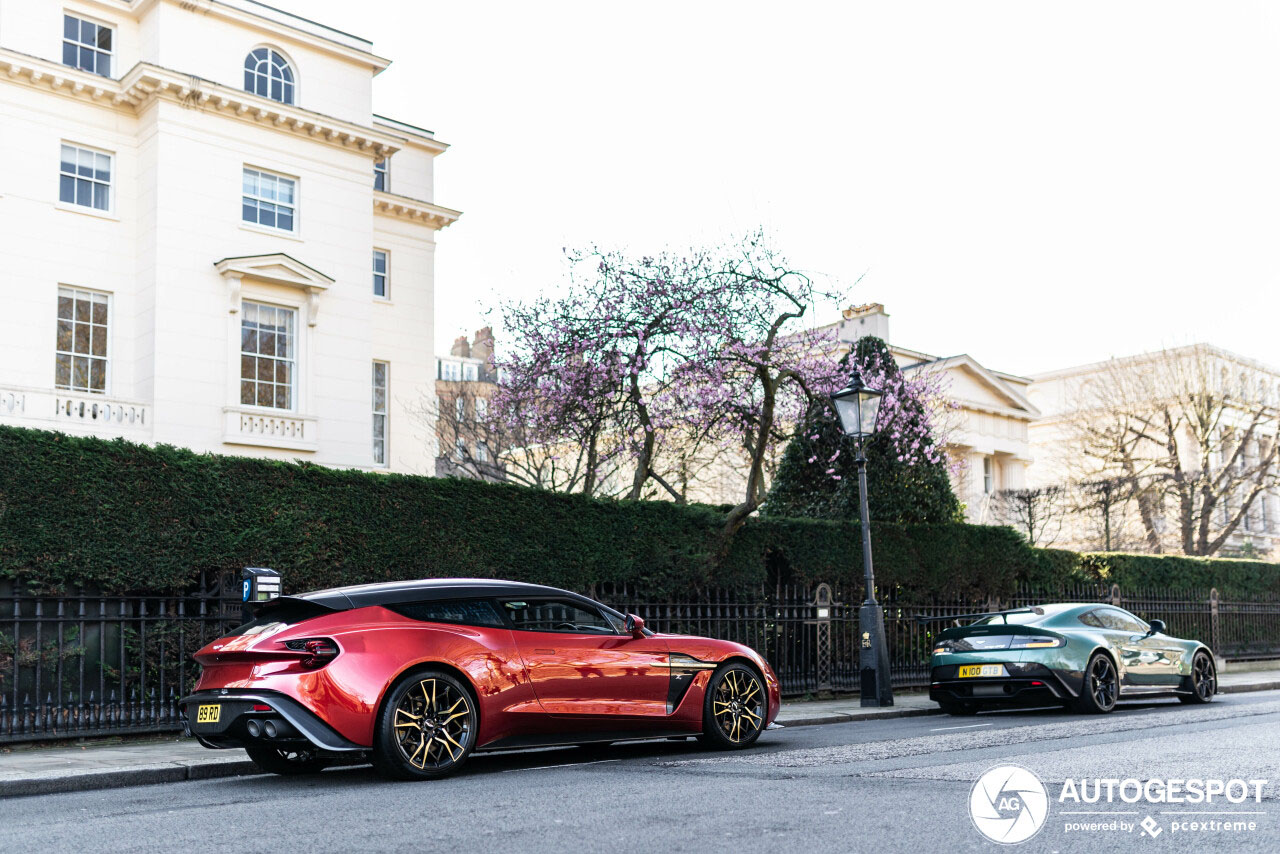 First Spot: Aston Martin Vanquish Zagato Shooting Brake