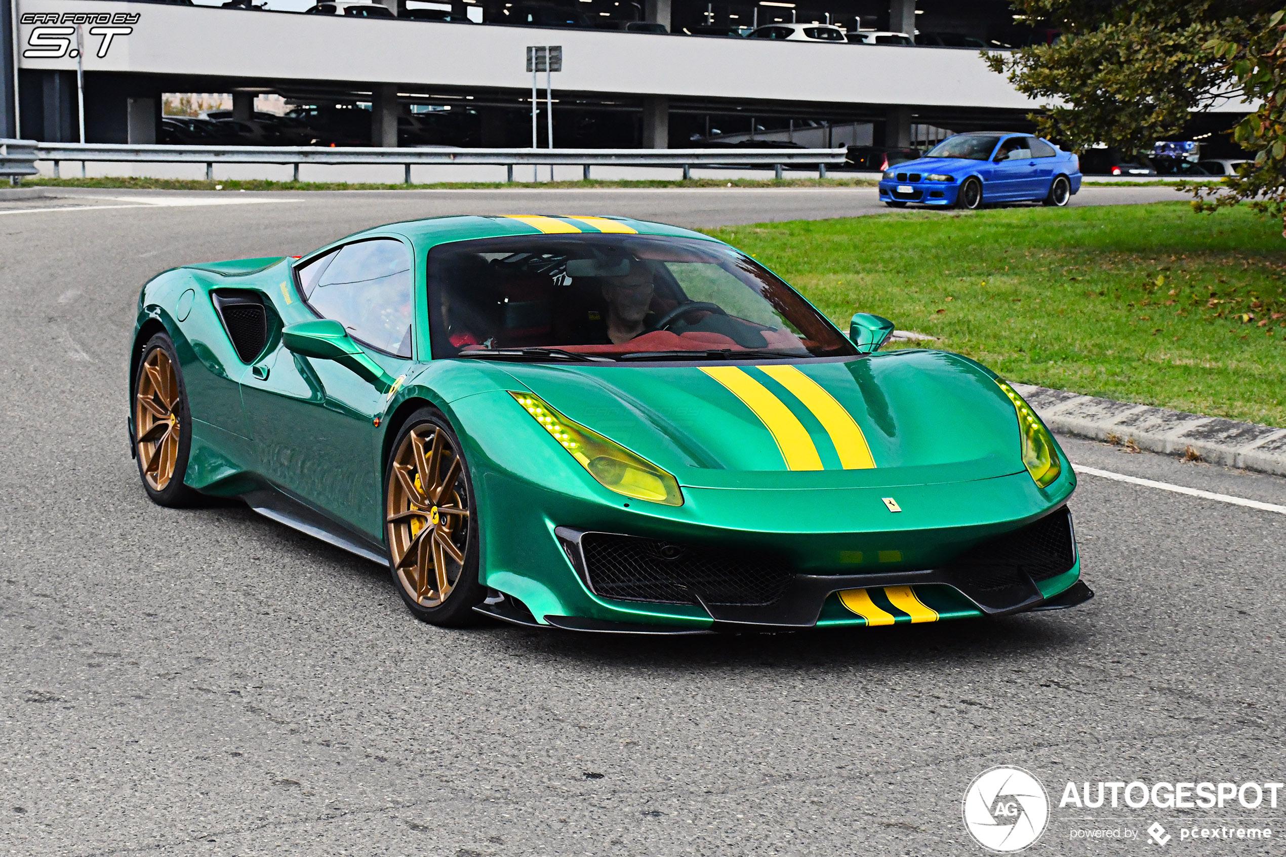 Ferrari 488 Pista bevestigt de huidige trend