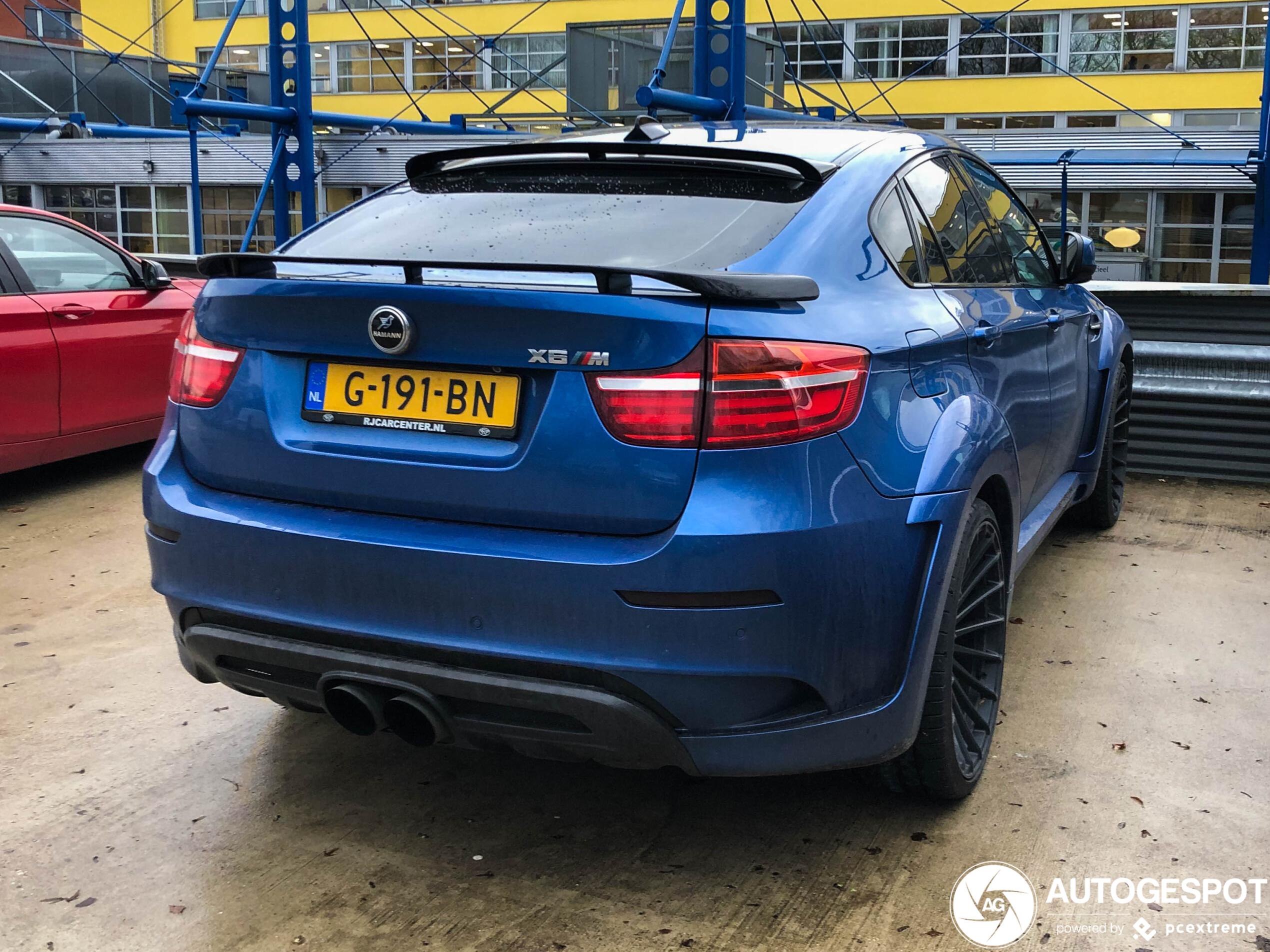 Hamann maakt van de BMW X6M de BMW X6M XL
