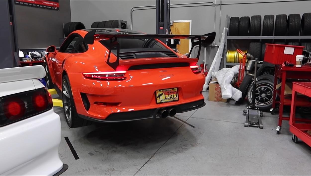 Is dit de luidste Porsche GT3 RS ooit?