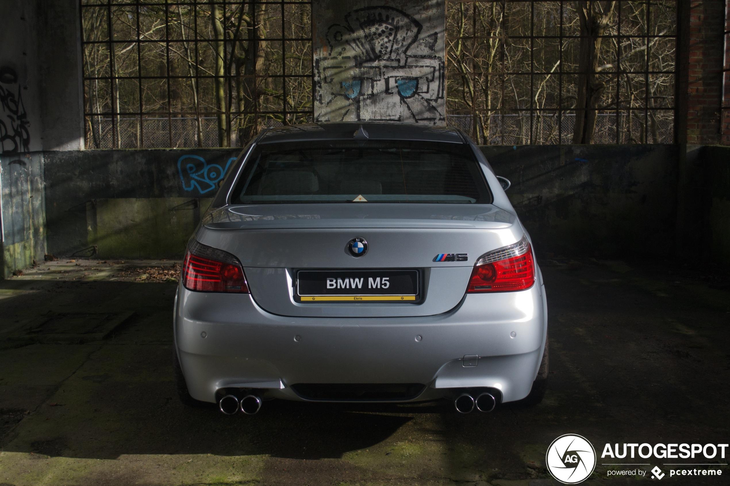 Spot van de dag: BMW M5 E60