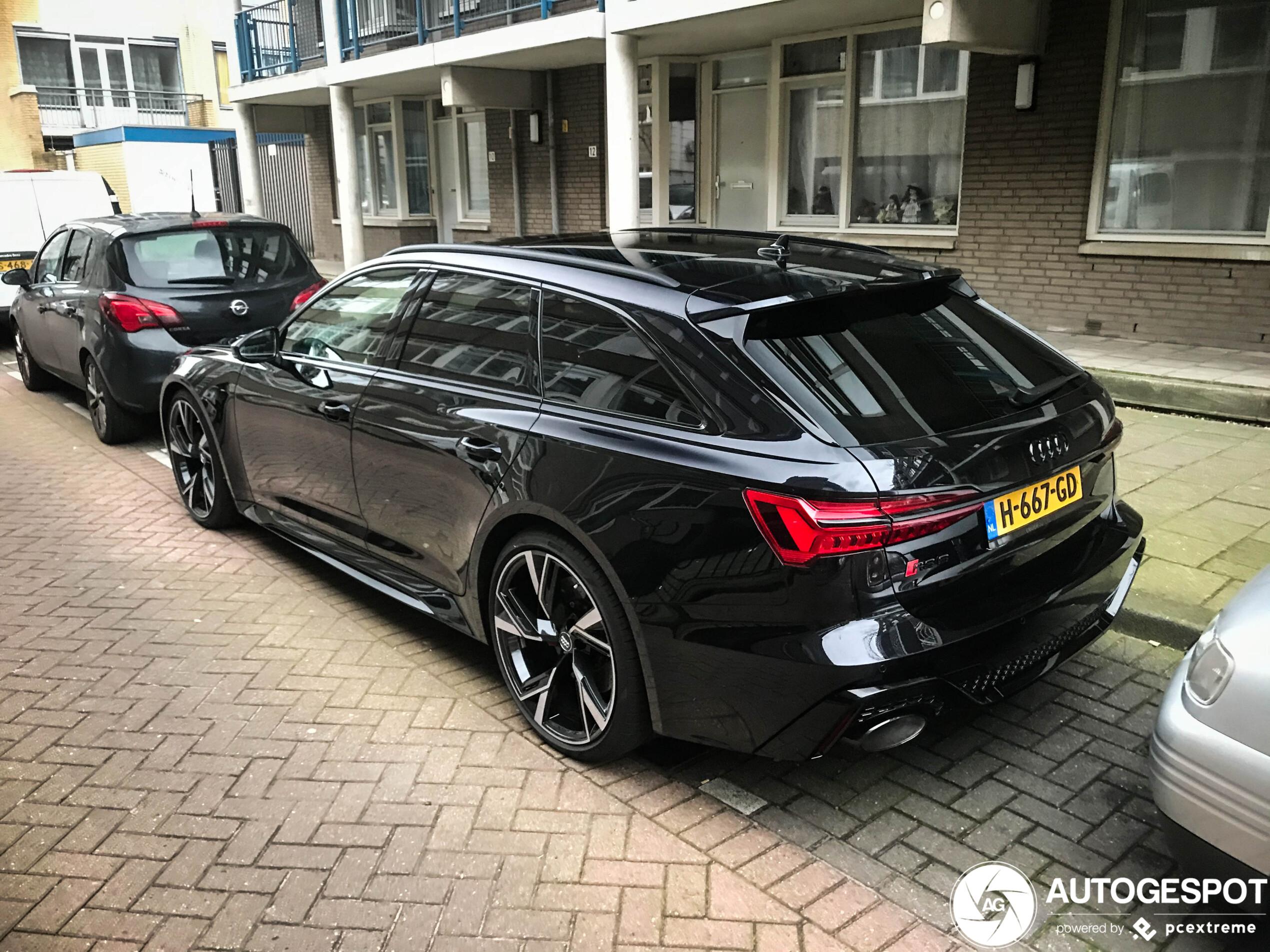 Nu al gemeengoed: Audi RS6 Avant C8
