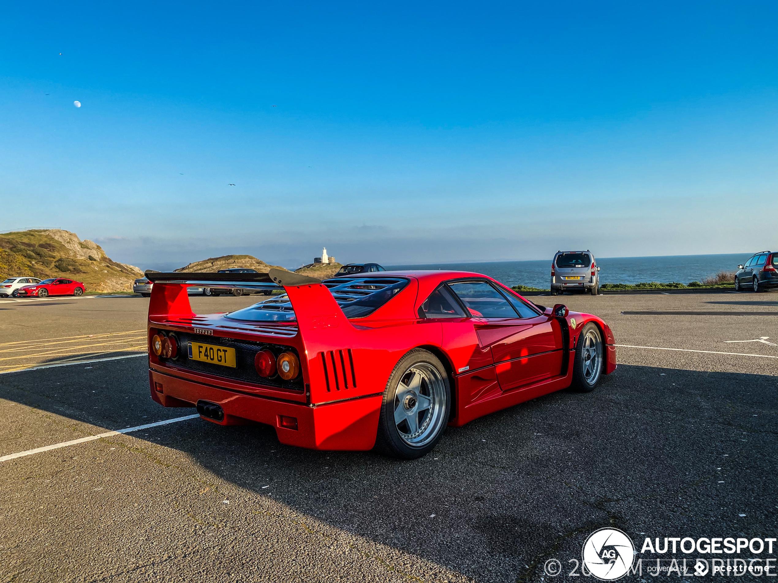 Spottersdroom komt uit met Ferrari F40