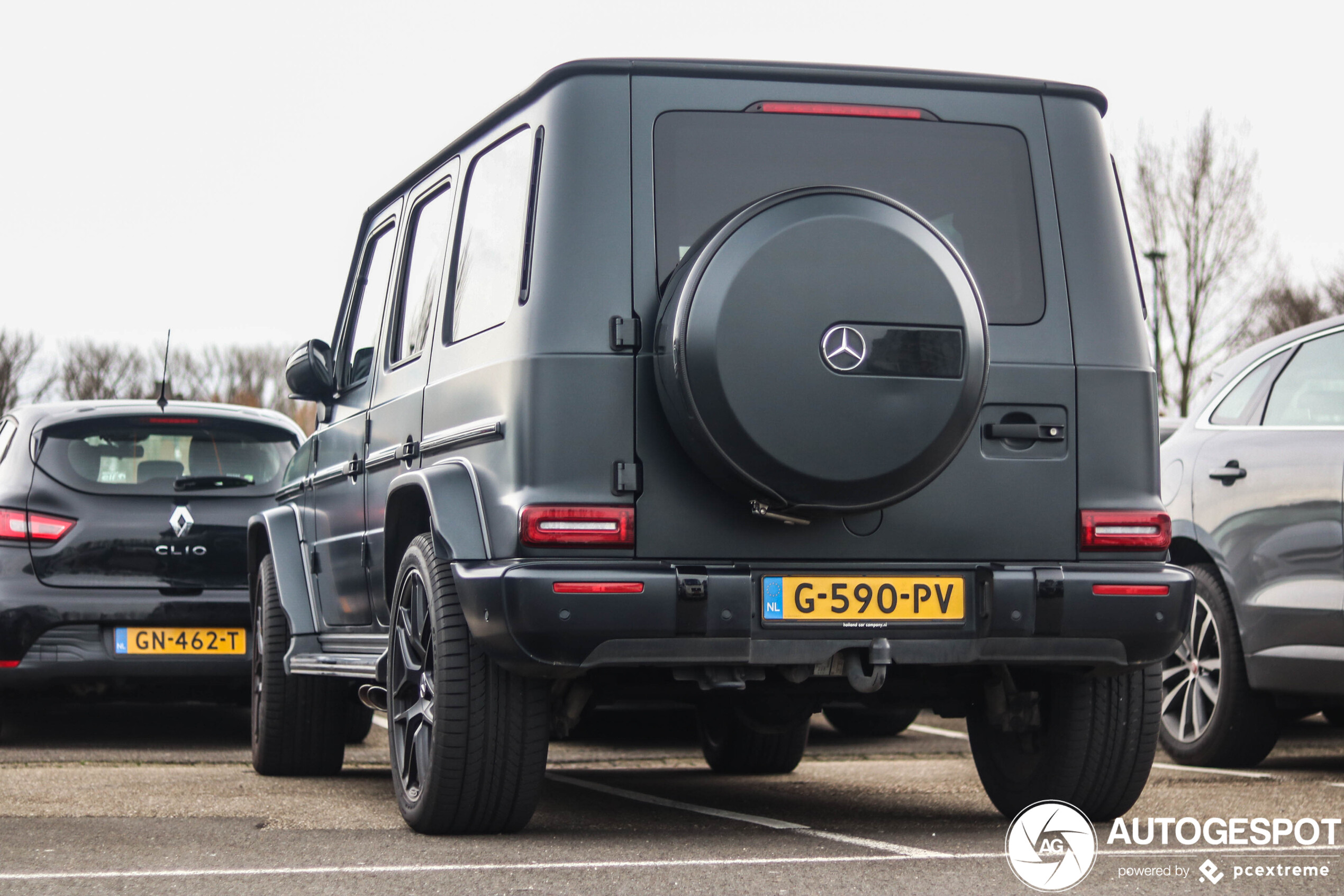 Mercedes-AMG G 63 neemt onbewust een risico