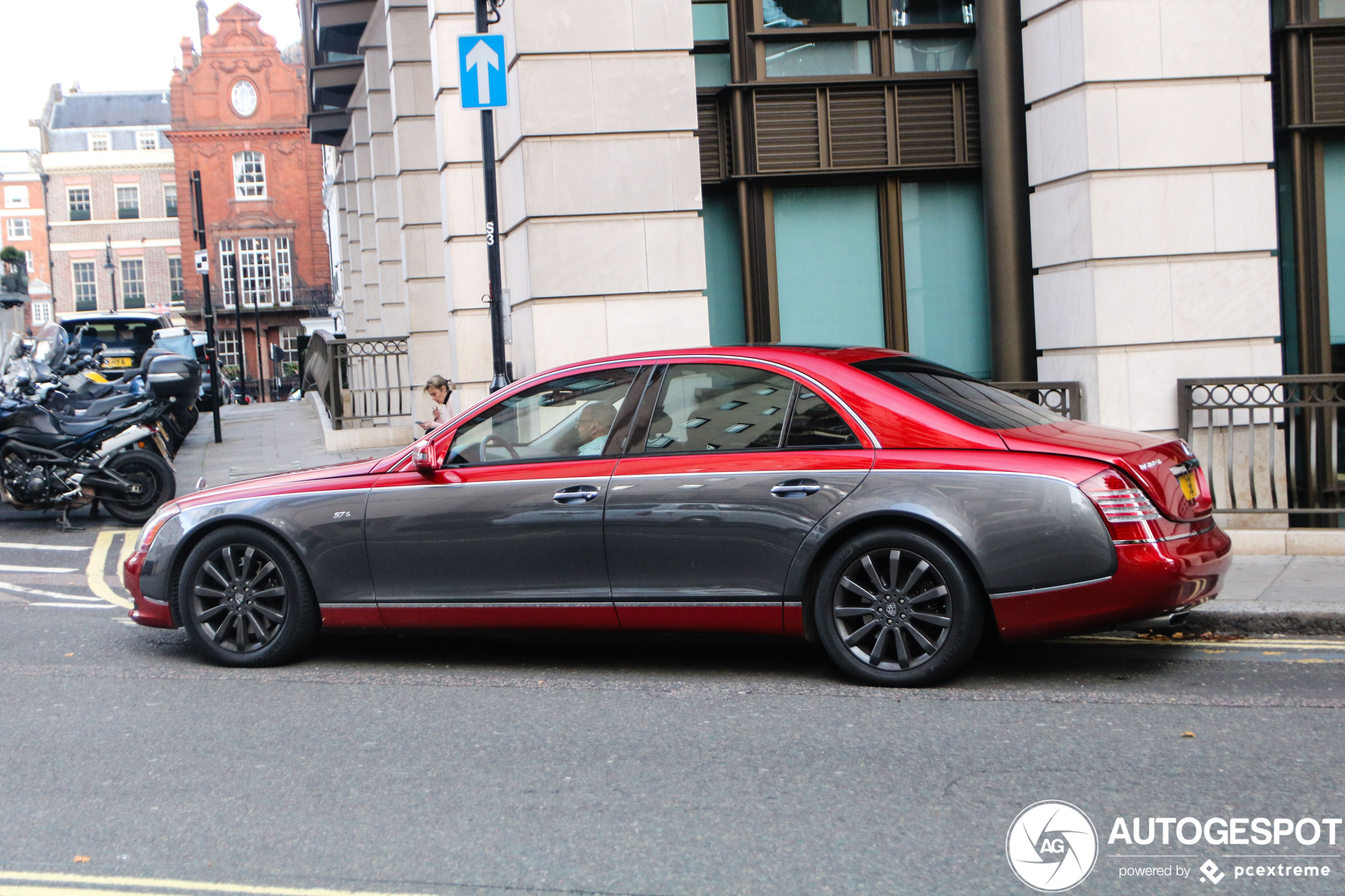 Maybach 57S China Edition is best een knappe verschijning
