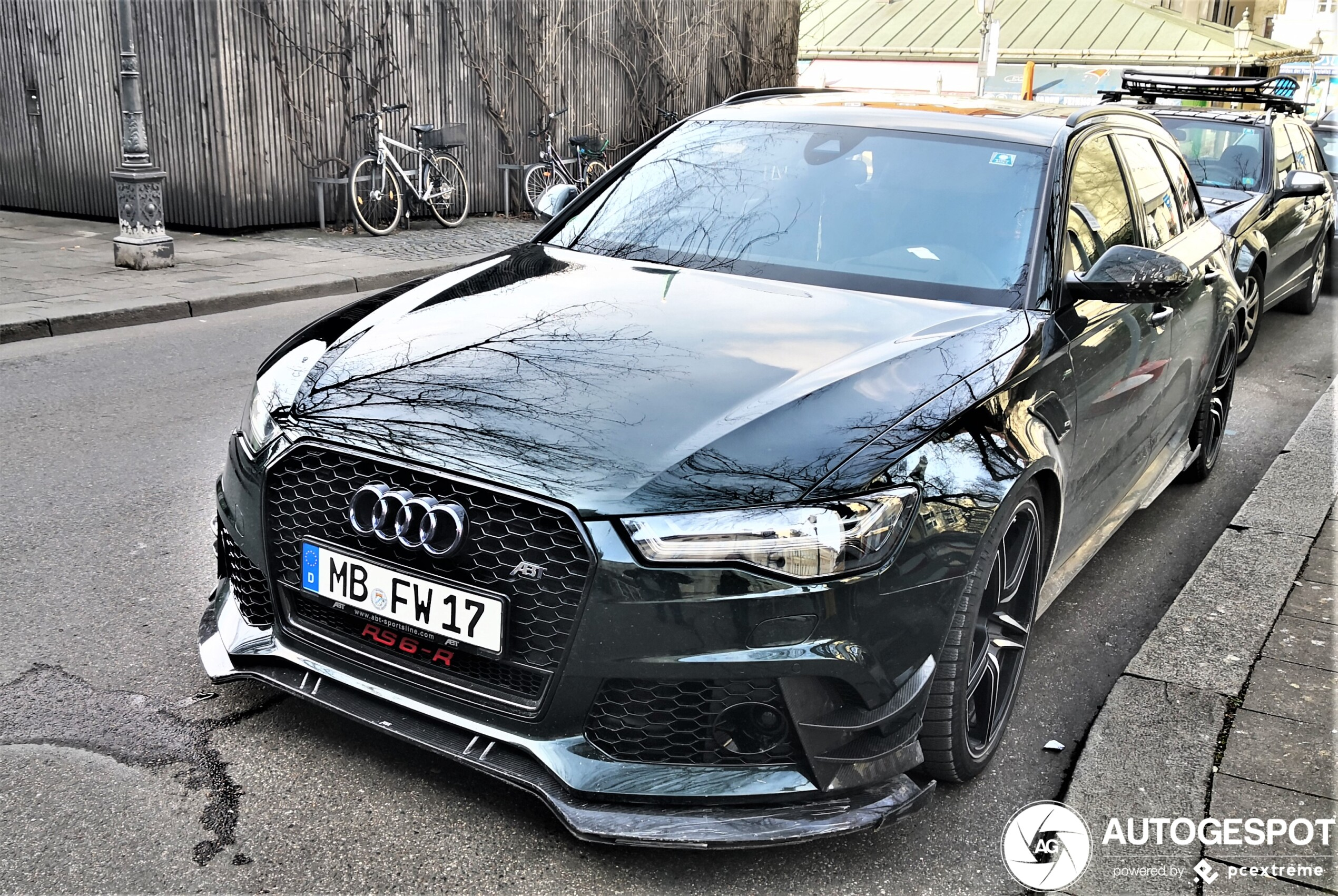 Audi ABT RS6 Avant zou in de bergen moeten rijden