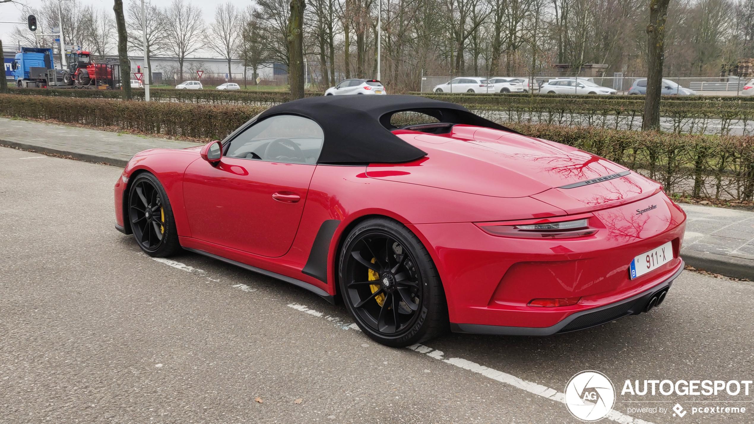 Spot van de dag: Porsche 991 Speedster