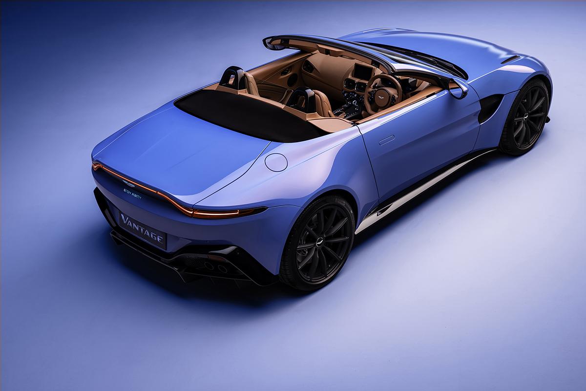 Winnen! Win een passagiersrit in een Aston Martin V8 Vantage Roadster