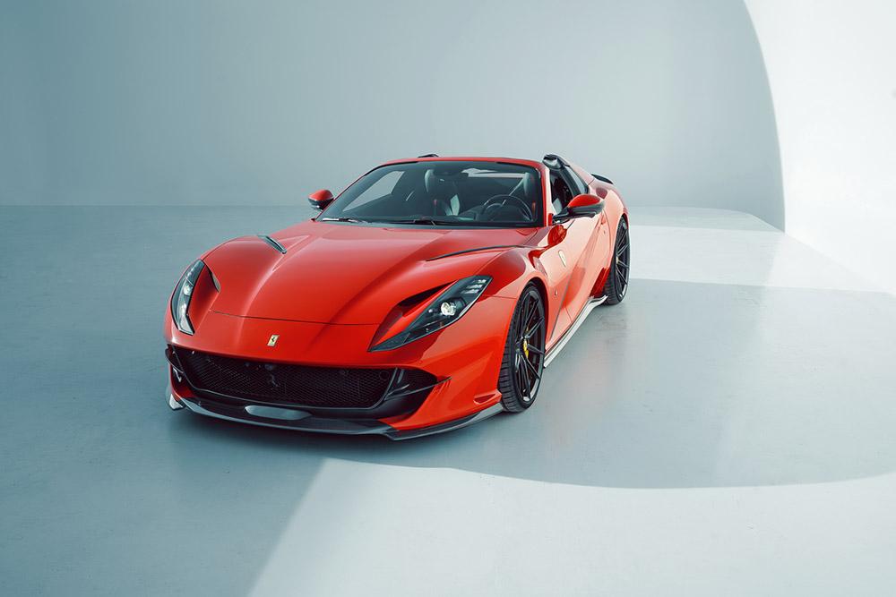 Novitec gives Ferrari 812 GTS a sportier look