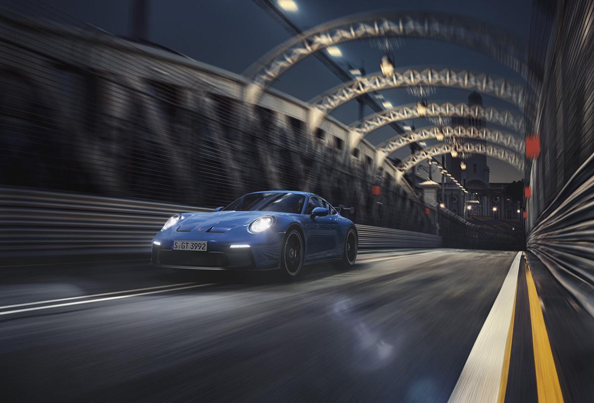 Porsche finally shows us the 992 GT3!