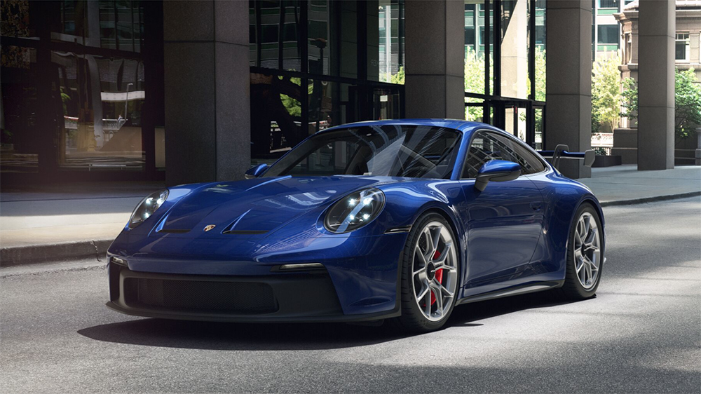 Stel nu je eigen Porsche 992 GT3 samen