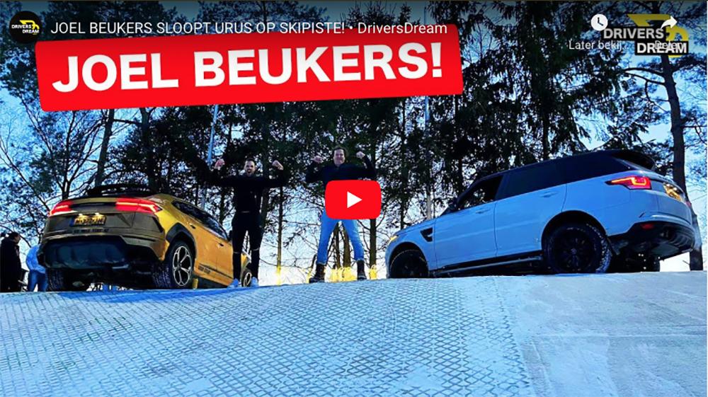 Filmpje: Top Gear taferelen in Soest op Drivers Dream
